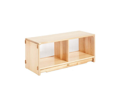 "Community Playthings Translucent Back Shelf 3' x 16"" - louisekool"