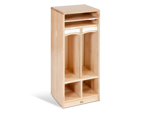 Compact Toddler Cubby 2 by Community Playthings - louisekool