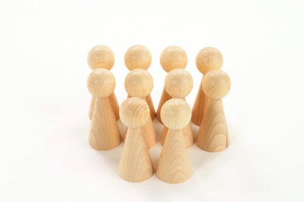 Conical Figures - Set of 10 - louisekool