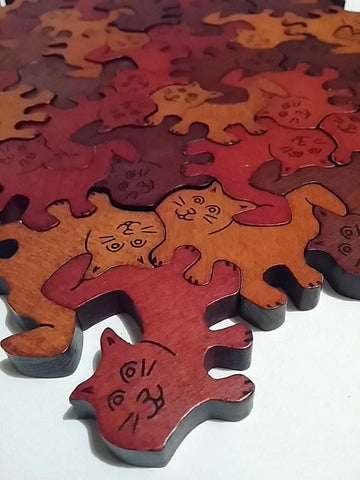 Connecting Cats and Puppies Puzzle Set - louisekool
