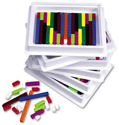 Connecting Cuisenaire® Rods - louisekool