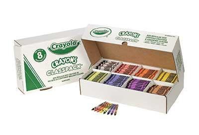 Crayola® Regular Crayons Classpack- Set of 800 - louisekool