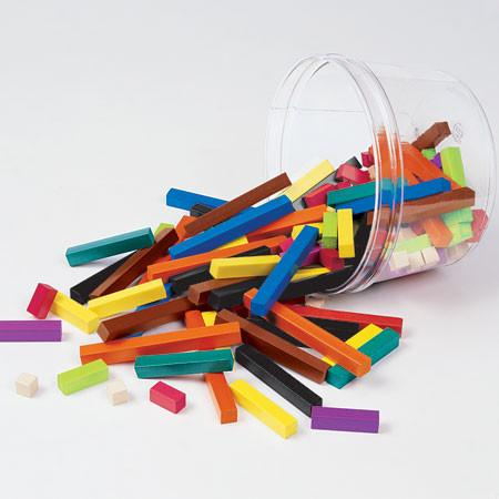 Cuisenaire Rods Small Group Sets of 155 - louisekool