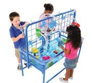 "Deluxe 23"" H Standard Clear-View Sand & Water Table & Top - louisekool"