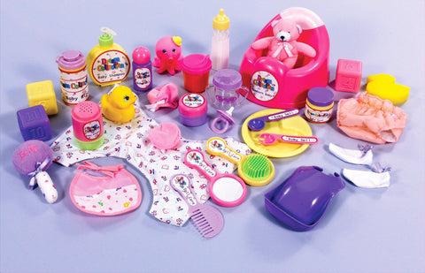 Doll Care Supplies - 29 Pieces - louisekool