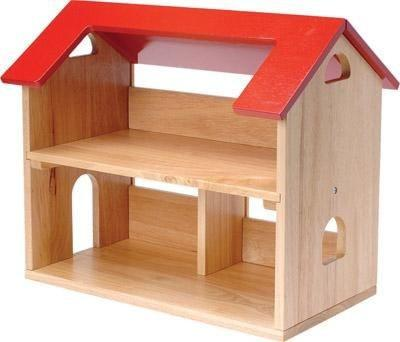 Dollhouse and 6 Room Furnishing Set - louisekool