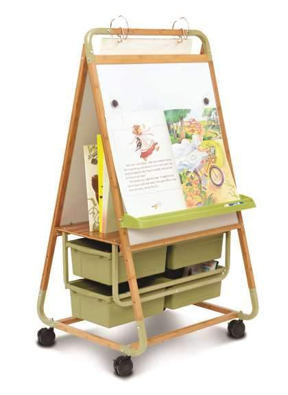 Double Sided Bamboo Teaching Easel - louisekool