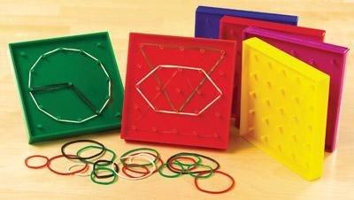 Double Sided Geoboard Set of 6 - louisekool