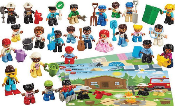 Duplo People - 44 Pieces - louisekool