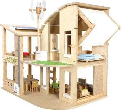 Eco Dollhouse with Furniture - louisekool