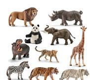 Exotic Animals - Set of 11 - louisekool