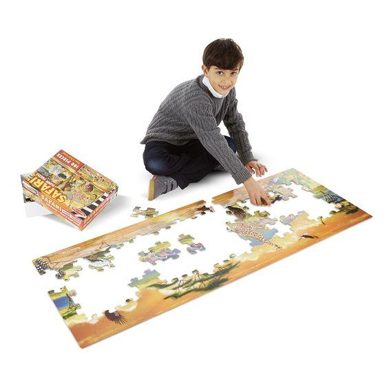 Floor Puzzle Safari, Extra Large - louisekool