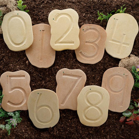 Feels-Write Number Stones - Set of 10 - louisekool