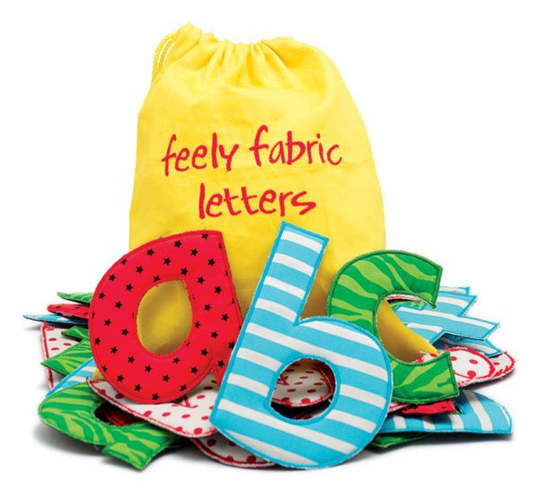 Feely Fabric Letters - louisekool