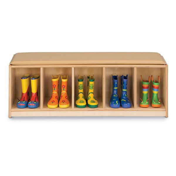Five-Section Camel Bench Locker - louisekool