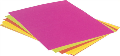 Fluorescent Construction Paper - louisekool