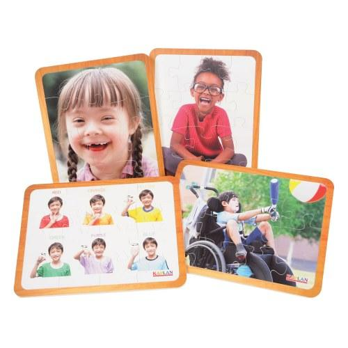 Friends Like Me Puzzles - Sets of 4 - louisekool