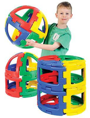 Giant Polydron Sphera Set - 36 Pieces - louisekool
