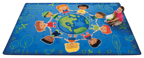 Give the Planet a Hug Rug - louisekool