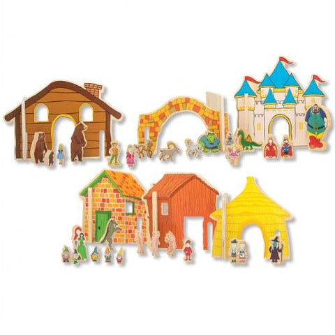 Happy Architect Fairy Tales Storytelling Set - louisekool