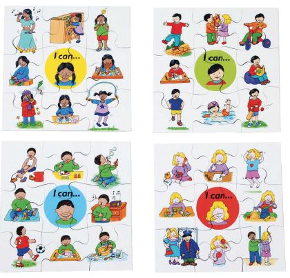 I Can Puzzle Set of 4 - louisekool