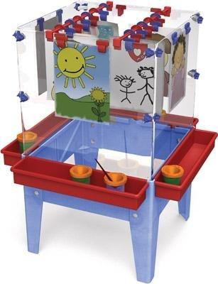 Indoor/Outdoor Art Easel for 4 - louisekool