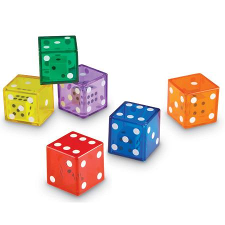 Jumbo Dice in Dice - Set of 12 - louisekool