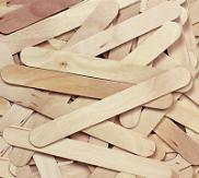 Jumbo Size Wood Craft Sticks - 500 Pieces - louisekool