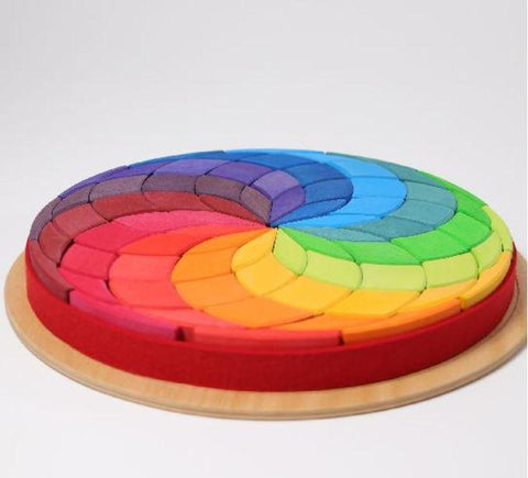 Large circle spiral puzzle - louisekool