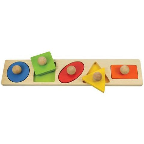 Large Knob Matching Puzzles - 5 Pieces - louisekool