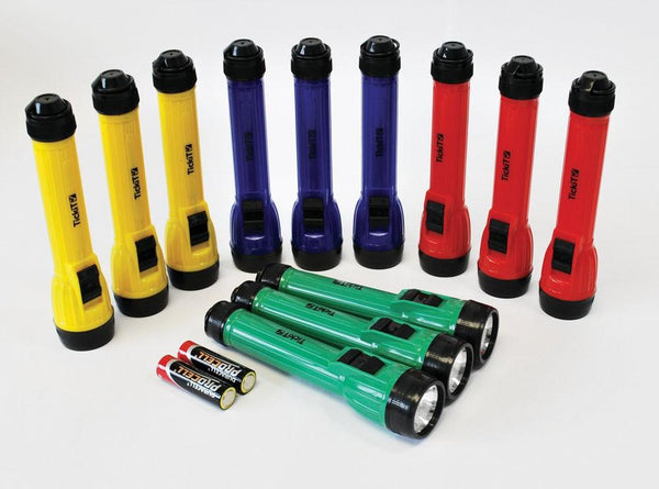 LED Handy Torches - Set of 12 - louisekool
