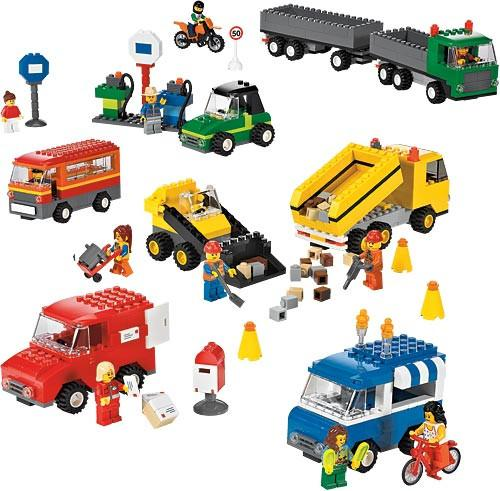 Lego© Vehicles Set of 934 - louisekool