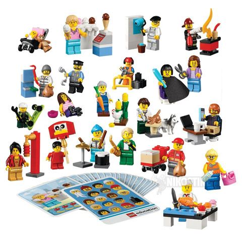 Lego® Community People - 256 Pieces - louisekool