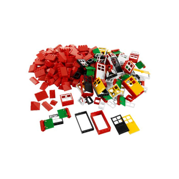 Lego® Doors, Windows and  Roof Tiles - 278 Pieces - louisekool