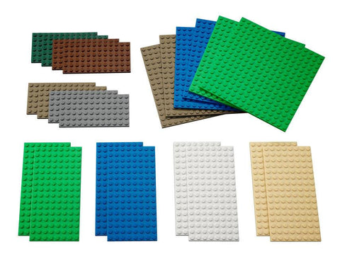 Lego® Small Building Plates - Set of 22 - louisekool