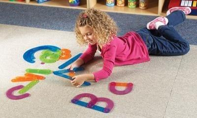 Letter Construction Activity Set - louisekool