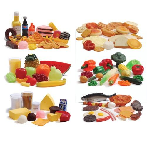 Life-Size Food Groups - 111 Pieces - louisekool
