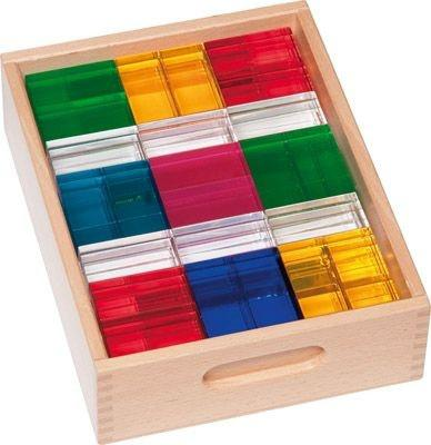 Luxy Luminescent Building Blocks - Set of 96 - louisekool