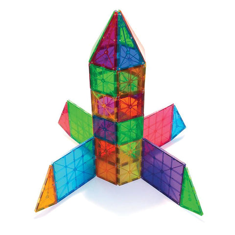 Magna-tiles Clear Colours set of 48 - louisekool