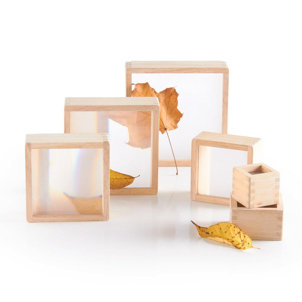 Magnification Stacking Blocks - Set of 6 - louisekool