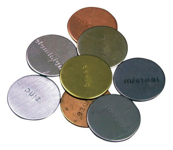 Metal Discs - Set of 8 - louisekool