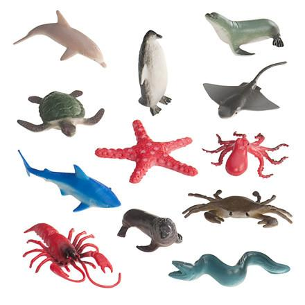 Mini Sea Animals - 120 Pieces - louisekool