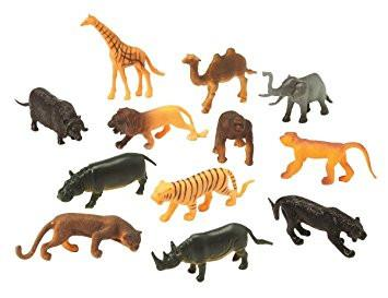 Mini Wild Animals - 108 Pieces - louisekool