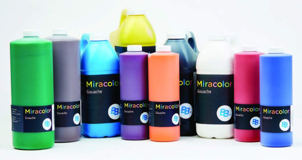 Miracolor Tempera Paints 500 ml, 1 L and 2 L - louisekool