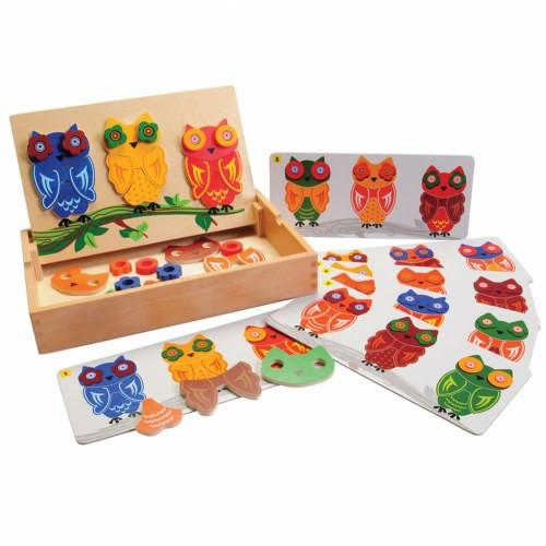 Mix & Match Magnetic Owls - louisekool