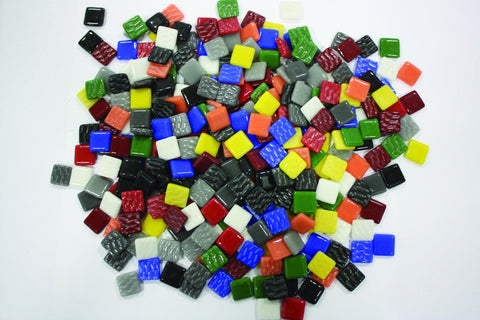 Mosaic Glass Stones - louisekool