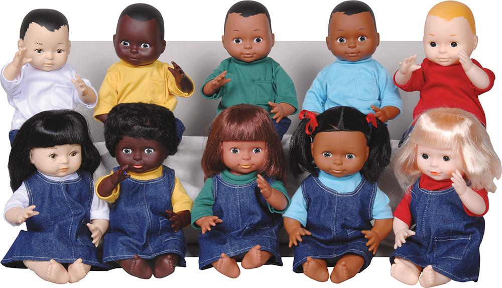 Multi-Ethnic Dolls - louisekool
