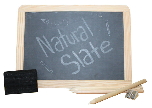 Natural Slate Chalkboard Sets - louisekool