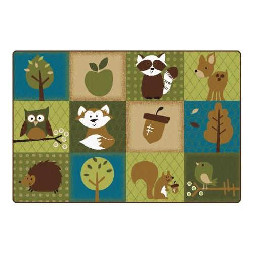 Nature's Friends Toddler Rug (6' x 9') - louisekool