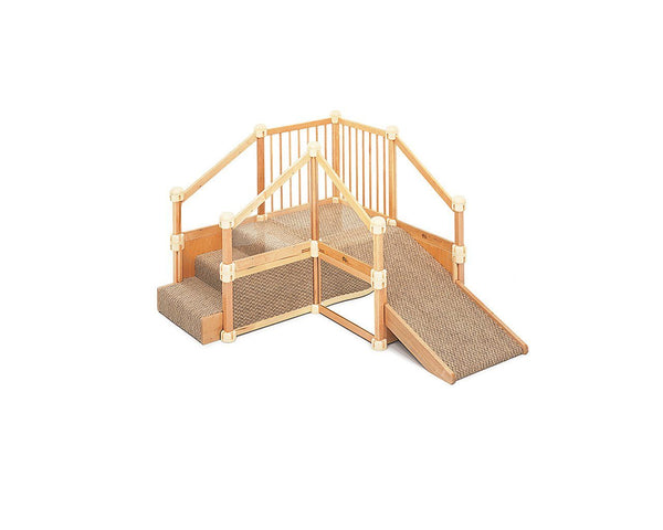 Nursery Gym 1 With Ramp by Community Playthings - louisekool